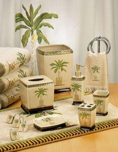 Palm Tree Shower Curtains For A Lush Bath