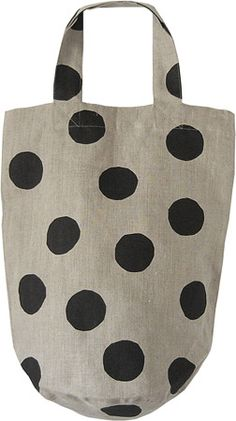 polka dot a plain canvas bag Polka Dot Bags, Polka Dots, My Bags, Purses And Bags, Linen Bag, Fabric Bags, Shopper, Cotton Bag, Handmade Bags