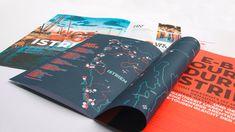 ✨ Die Visit HotSpots-Broschüre für E-Bike-Touren durch Istrien besticht durch unterschiedliche Formate in einem Magazin! 💎 #nicetomoveyou #print #printdesign #editorialdesign #grafikdesign #visithotspots #branding #travelagency #agency #agencylife #werbeagentur Editorial Design, Grafik Design, Cover, Books, Advertising Agency, Make A Donation, Libros, Book, Book Illustrations