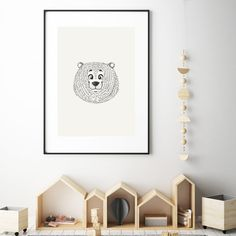 Pombo is printed on high-quality paper. Simply add a frame or magnetic sticks.