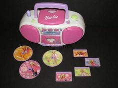 The Barbie Boom Box