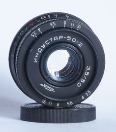 Industar-50-2 50mm 3.5 Pancake Camera Lens M42 Mount i-50-2 USSR 1973 #Industar
