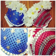 Miss America Rave Bra on Etsy, $70.00