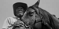 Morgan Freeman. He's also an avid horseman. I knew I loved him. :0)