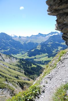 Hiking in Switzerland Adelboden.  Where I spent some of my summer, best experience of my life!  Take me back to my second home.