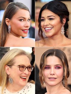 SAG Awards 2017: Red Carpet Trends You Can't Miss // CHANDELIER EARRINGS   Sofia Vergara, Gina Rodriguez (in Hueb), Meryl Streep (in Fred Leighton) and Sophia Bush (in Jacob & Co.) all decided to bring the bling with major jewels shimmering at their earlobes.