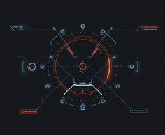 Quantum HUD Infographic Pack on Behance