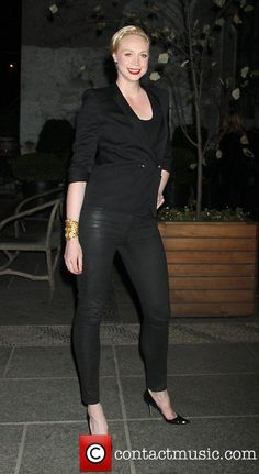 Gwendoline Christie attends the Gato Negro Films & the Cinema Society screening of Hotel Noir at the Crosby Hotel - Pictures) Crosby Hotel, Gwendolyn Christie, Brenda Strong, Shannon Tweed, Game Of Thrones, Game Of Throne Actors, Tall Girl Fashion, Julie Newmar, Natural Women
