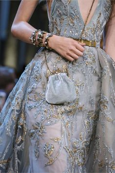 "californiamadnesss: ""Details at Elie Saab Fall 2017 Couture """