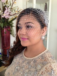 Hair and makeup done by me on my beautiful sister on her special day.