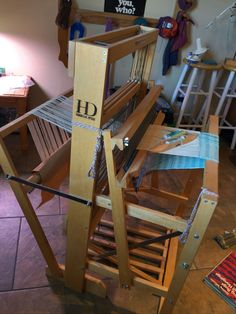 Harrisville Designs 4 Harness 6 Treadle Floor Loom | eBay