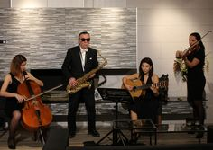Saksafon / Sax - Keman / Violin - Gitar / Guitar - Viyolonsel / Cello www.solomuzik.com #seranova #keman #saksafon #cello #gitar #quartet #solomuzikorganizasyon @seranova @cnr @unicera
