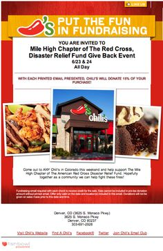 This is awesome!  Print this out, go to Chili's on the 23rd & 24th and give some money to fight the fires!