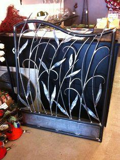 Forged steel garden gate | Flickr - Photo Sharing!