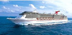 Carnival Cruise Line, Carnival Miracle cruise ship.Track at sea, live, in real time.