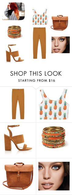 """""""Untitled #95"""" by umay-cdxc ❤ liked on Polyvore featuring Zara, Tabitha Simmons, Amrita Singh and Maybelline"""