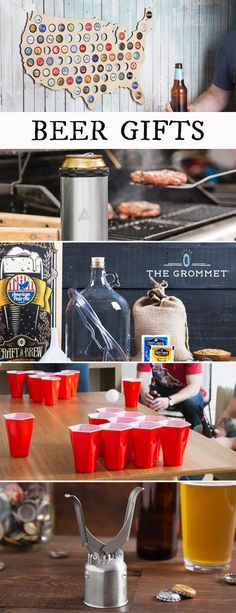 Discover beer gifts that any beer lover will enjoy. From unique beer openers to a fun beer pong game, these beer gifts will have them saying cheers to you.