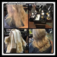 Olaplex we care for your hair.  www.saloninsite.dk Copenhagen Denmark