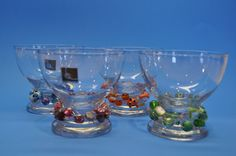 Beaded cocktail or dessert glasses by sonyalawlessbower on Etsy, $30.00