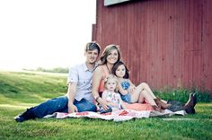 vintage rustic country family photography