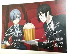 Black Butler Illust Card Ciel Phantomhive The Book of Atlantic Limited Anime F/S