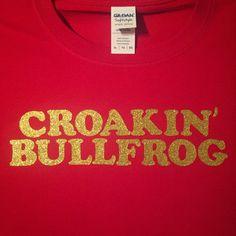 Croakin' Bullfrog Custom Gildan SoftStyle T-Shirt Alabama Dixieland Delight