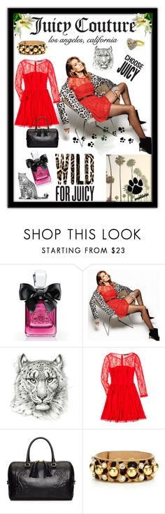 """""""Wild for Gifts with Juicy Couture"""" by mellors ❤ liked on Polyvore featuring Juicy Couture and AMUR"""