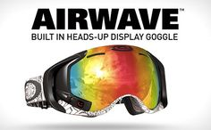 While Google is preparing his Glass Project, Oakley eyewear launch with a variety of technologies. Formerly renowned sunglasses manufacturers are