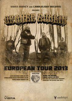 Orange Goblin European Tour 2013