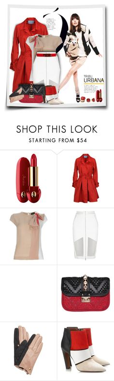 """A Heart That Loves Is Always Young!"" by sherri-2locos ❤ liked on Polyvore featuring Guerlain, Prada, Vionnet, Dion Lee, Maison Boinet, Valentino, Kate Spade, Vince Camuto, Calvin Klein Collection and Sonia Rykiel"