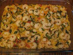 Basil Shrimp with Feta and Orzo » Nutmeg Notebook