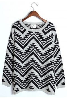 Aztec Triangle Pattern sweater