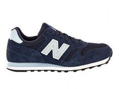 New Balance 373 Chaussures Femme Classiques Marine Lumière Bleu