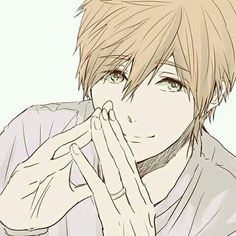 I swear he gets cuter every picture I see of him Haru And Makoto, Makoto Tachibana, Makoharu, Free Eternal Summer, Free Iwatobi Swim Club, Bishounen, Free Anime, Love Is Free, Anime Style