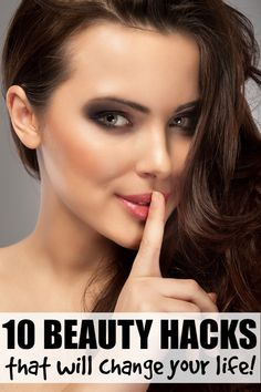 If you've ever wondered how to get rid of razor bumps, how to cover up acne, or how to get your nails to dry faster after a manicure, you will love this collection of 10 fantastic beauty secrets! There are some great beauty hacks in this list!