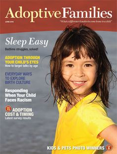 "Adoptive Families Magazine - ""Sleep Easy"" Issue: May/June 2012"
