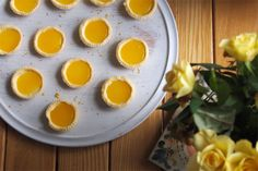 Little Lemon Tarts (Gluten Free, Vegan, Dairy Free, Egg Free)