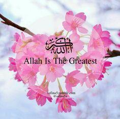 Allahu Akbar. #Alhumdulillah #For #Islam #Muslim #Dua #Dhikr #Quran
