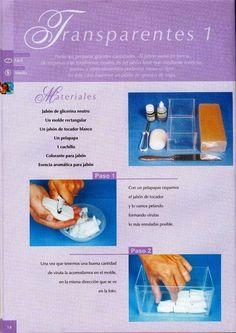 Cursos y tutoriales para manualidades: Como hacer jabones artesanales Handmade Soaps, Diy Soaps, Soap Recipes, Home Made Soap, Soap Making, Herbalism, Diy And Crafts, Perfume, Candles