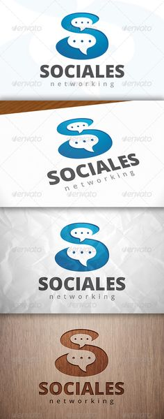 Social S Letter - Logo Design Template Vector #logotype Download it here: http://graphicriver.net/item/social-s-letter-logo-template/8164185?s_rank=1602?ref=nexion