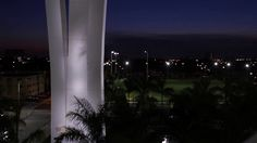Lighting illumination of the Marlins Ballpark by .@snarkiteture https://vimeo.com/41707750