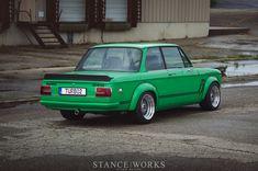 signal green bmw 2002 turbo is a work