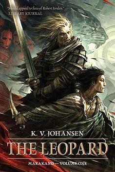 K.V. JOHANSEN. The Leopard (2014) novel
