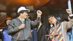 """PRESIDENTE MORALES SE SOLIDARIZA CON LA ACTIVISTA MILAGRO SALA      Presidente Morales se solidariza con la activista Milagro Sala""""No se puede silenciar la voz de los humildes"""" dijo Morales. Una vez que se conoció la sentencia de tres años de prisión en suspenso el primer mandatario de Bolivia se pronunció en favor de la defensora de los pueblos originarios. El presidente de Bolivia Evo Morales manifestó su solidaridad con la lideresa de la Organización Tupac Amaru Milagro Sala quien fue…"""