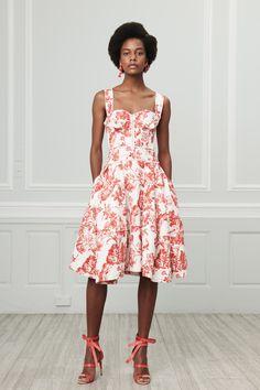 Oscar de la Renta Resort 2019 New York Collection - Vogue