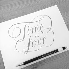 betype: Time Is Love Coasters by  Jay Selway /... - Good typography