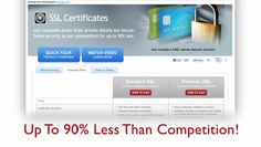 Get your secure server level certificates today!