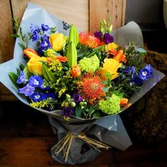 Send Get Well flowers with Bloom Magic! Let your loved ones know you are thinking of them with great flowers, bouquets & gift sets. Delivery throughout Ireland. Get Well Flowers, Send Flowers Online, Same Day Flower Delivery, Flowers Delivered, Flower Making, Burnt Orange, Deep Blue, Blue Flowers, Dublin