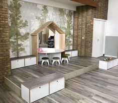Home Daycare, Outdoor Furniture Sets, Outdoor Decor, Childcare, Decoration, Box, Dining Bench, Storage, Ikea Ideas