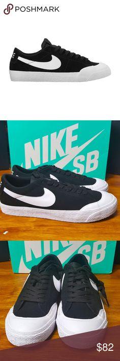 55273a784 Nike SB Blazer Low TXT Black 864348-019 size 9 New Nike SB Blazer Low